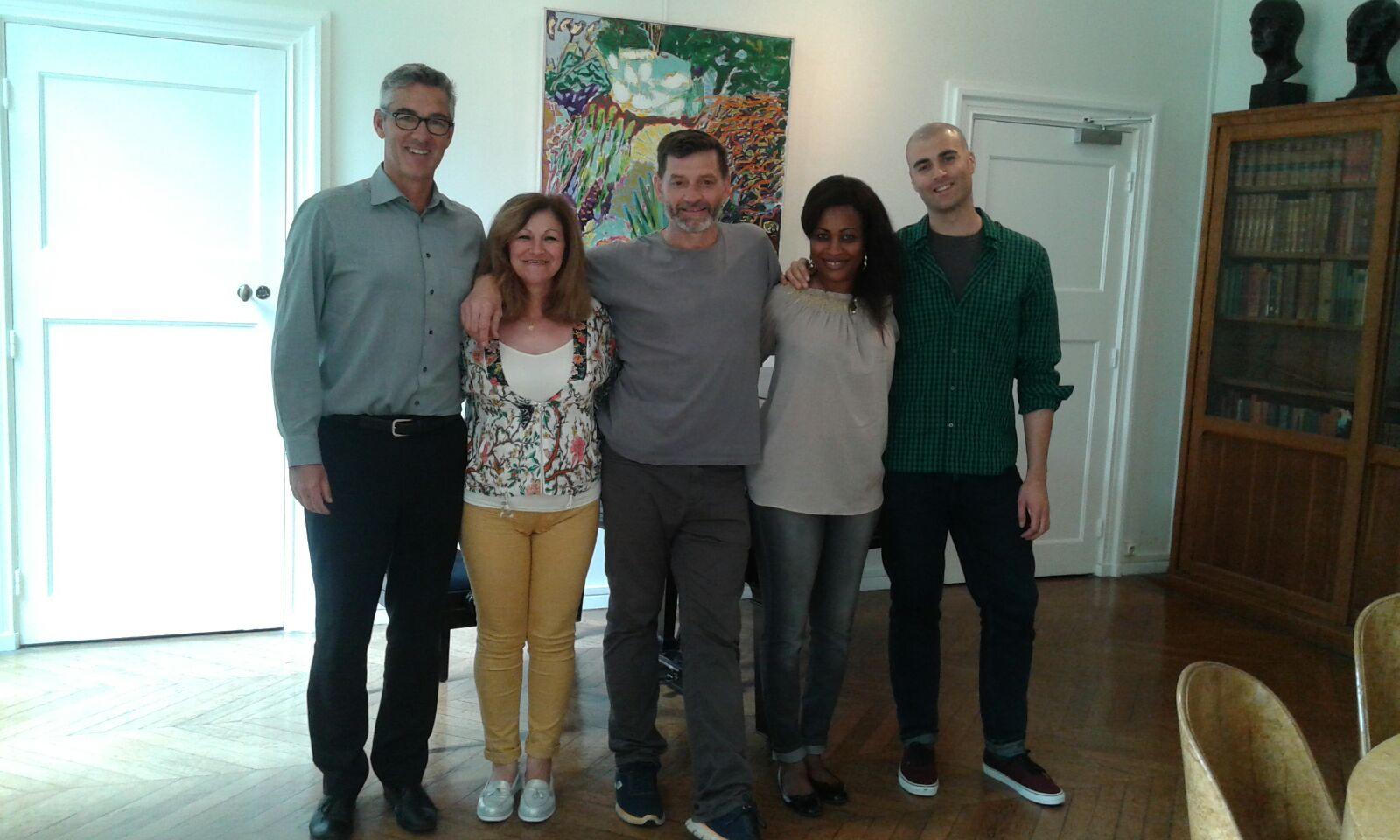 Staff De Maison : Staff maison des etudiants suédois