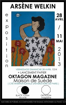 Vernissage et lancement OKTAGON 28 avril 2013