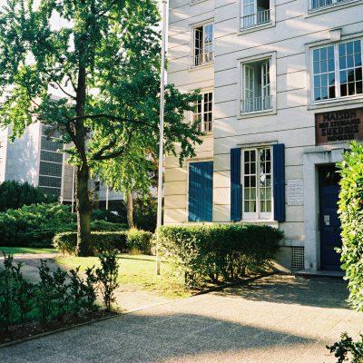 Façade et entrée - Maison des étudiants suédois