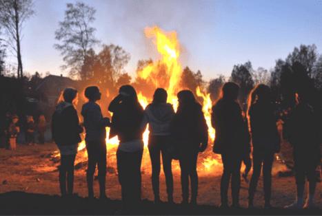 Valborgsmässoafton, den 30 april 2019 kl 19