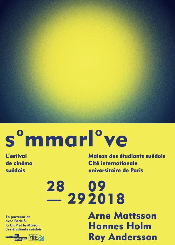 Sommarlove : festival de cinéma suédois, les 28 et 29 septembre 2018