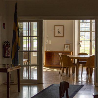Entrée - Maison des étudiants suédois