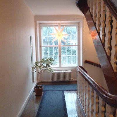 Escalier - Maison des étudiants suédois