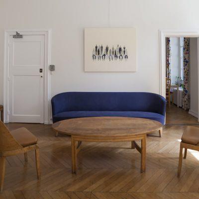 Salon - Maison des étudiants suédois