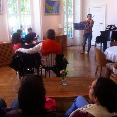 Concert au salon - Maison des étudiants suédois