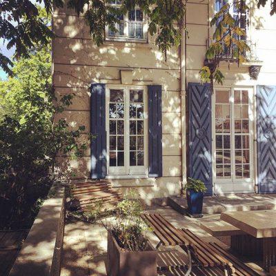Terrasse - Maison des étudiants suédois