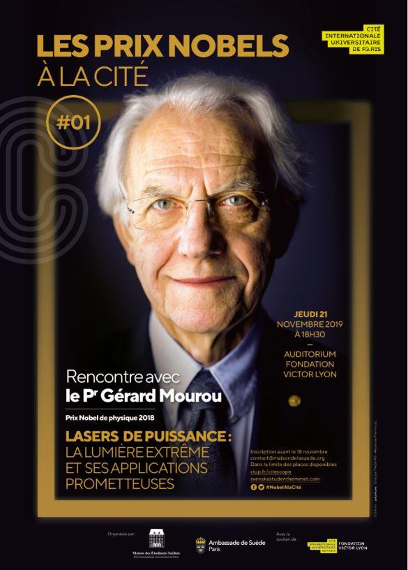 Soirée Nobel à la Cité internationale #1