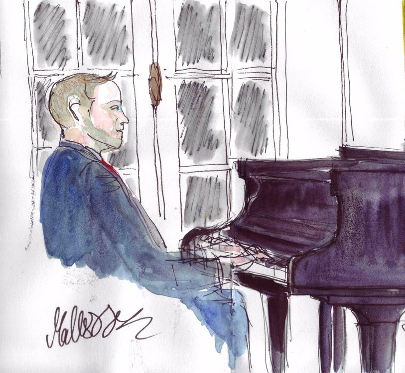 Concert de Mattias Nilsson : inauguration du piano restauré