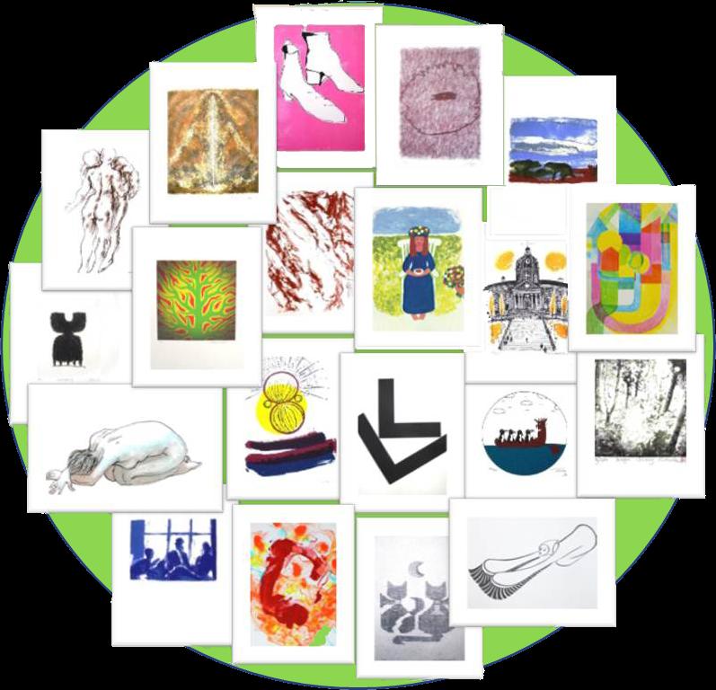 Vernissage : Association artistique suédoise, 20 ans de lithographies