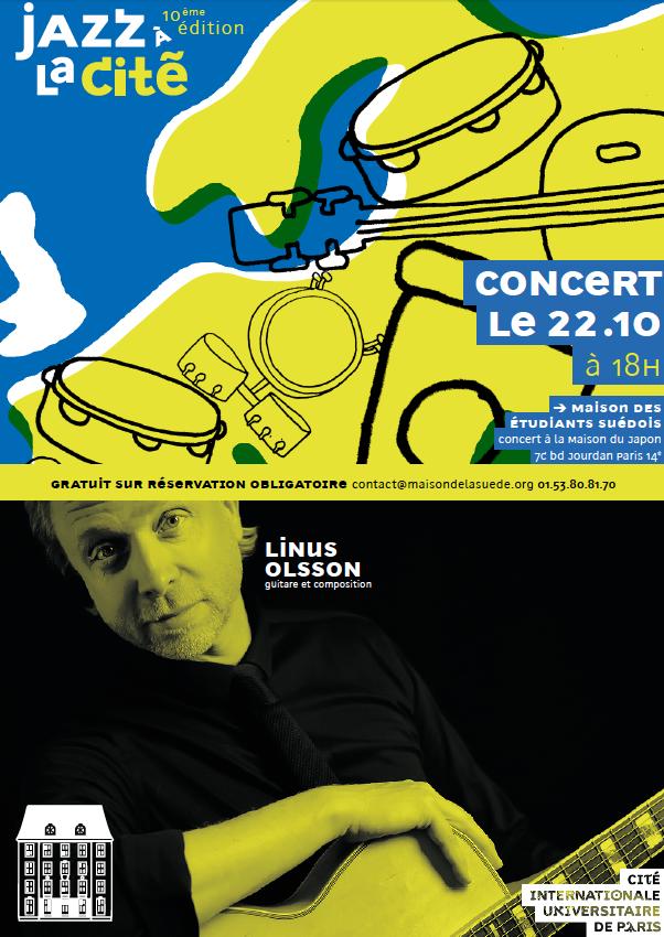 Jazz à la Cité : Linus Olsson