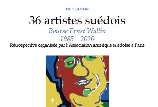 36 artistes exposés à la Maison des étudiants suédois